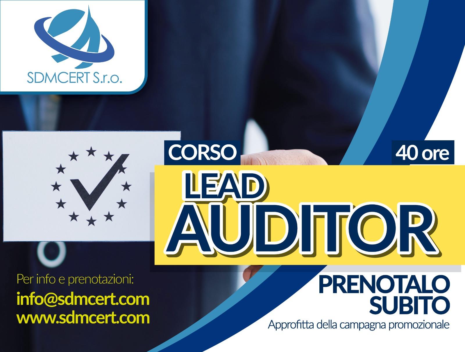 Corso Lead Auditor